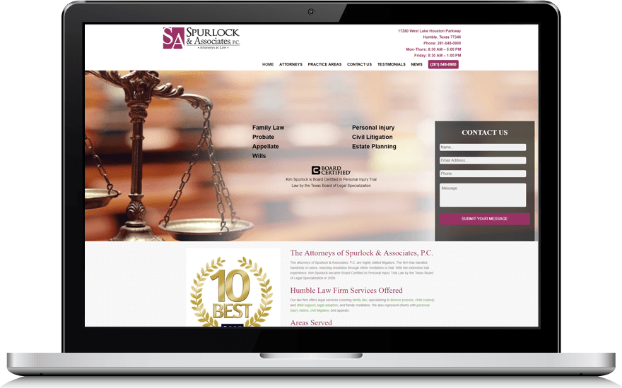 spurlock-law-website