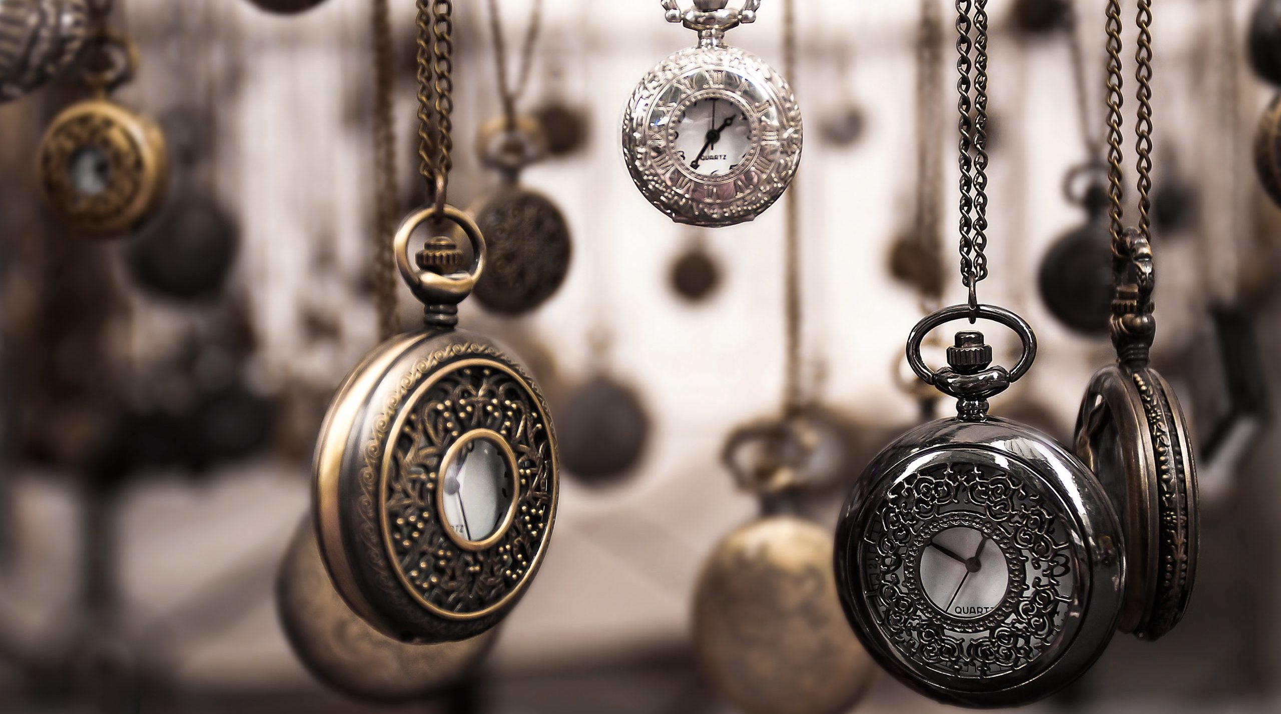 Pocket watches to time SEO results.